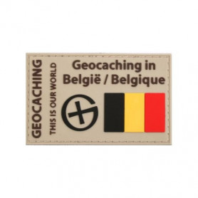 Badge Geocaching in België/Belgique