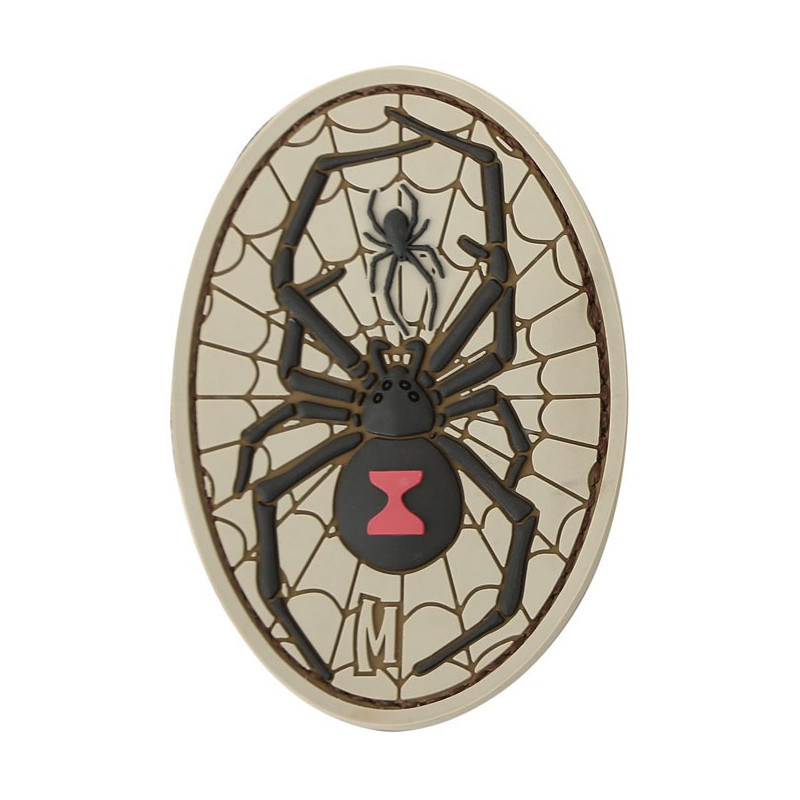 Maxpedition - Black Widow badge - Arid