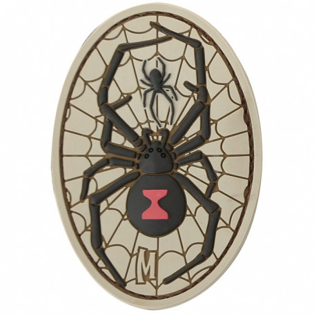 Maxpedition - Badge Black Widow - Arid