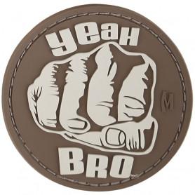 Maxpedition - Bro Fist badge - Arid