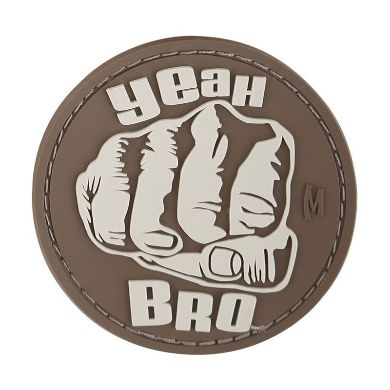 Maxpedition - Bro Fist badge - Arid
