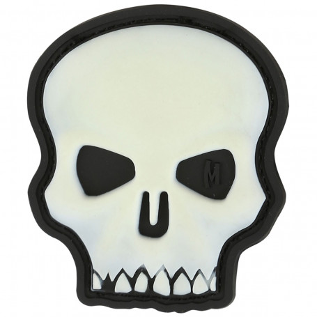 Maxpedition - Badge Hi Relief Skull - Glow