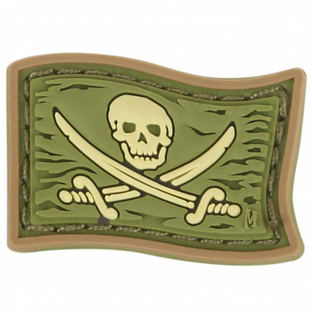 Maxpedition - Badge micro Jolly Roger - Arid
