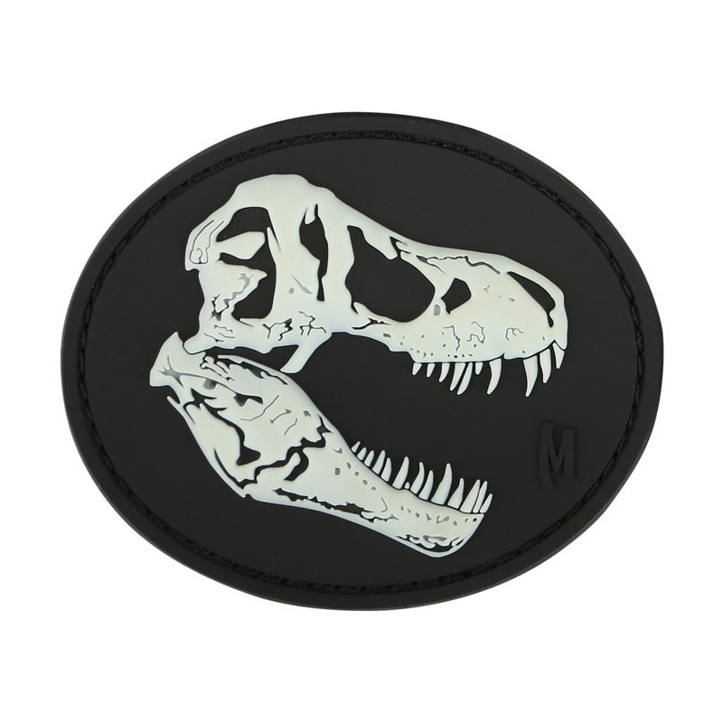 Maxpedition - T-Rex Skull badge - Glow