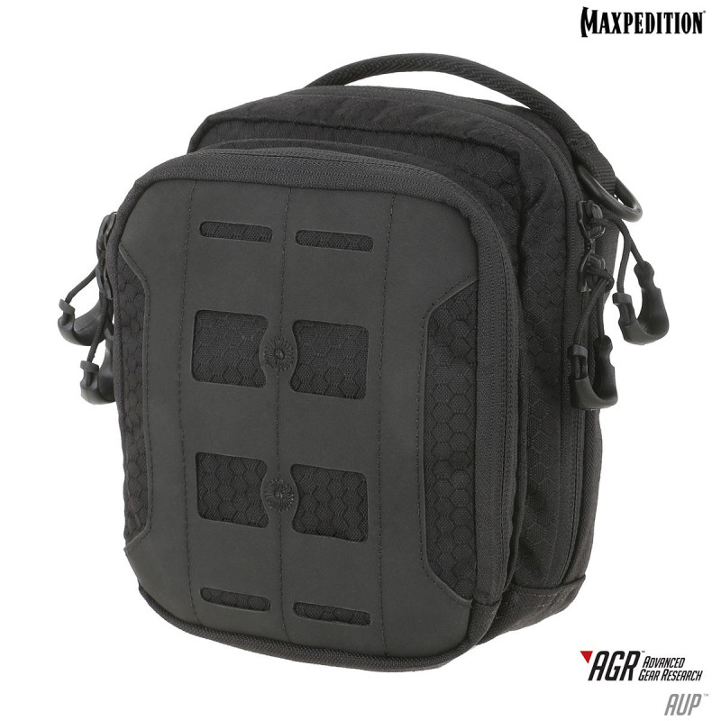 Maxpedition - AGR™ Advanced Gear Research: AUP™ Accordion Utility Pouch - zwart