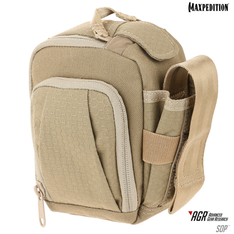 Maxpedition - AGR Side Opening Pouch - TAN