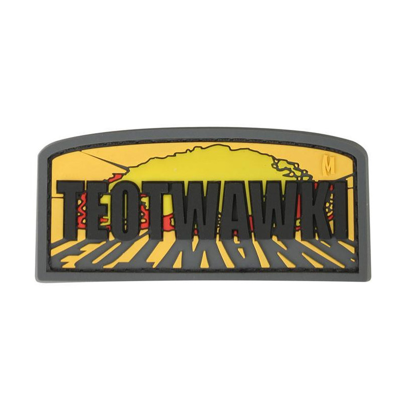 Maxpedition TEOTWAWKI badge- color