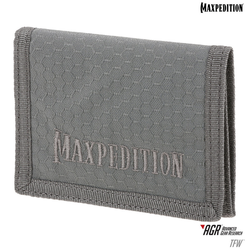 Maxpedition - Wallet AGR TriFold - Grijs