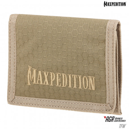 Maxpedition - Wallet AGR TriFold  - Tan