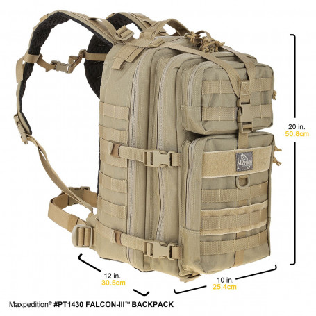 Maxpedition - Falcon III Backpack (khaki)
