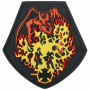Maxpedition - Badge Fire Dragon - Color