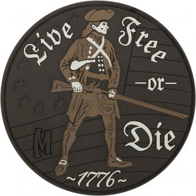 Maxpedition - Badge Live free or Die - Arid