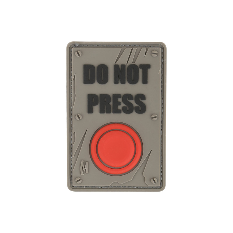 Maxpedition - Badge Do not press - Swat